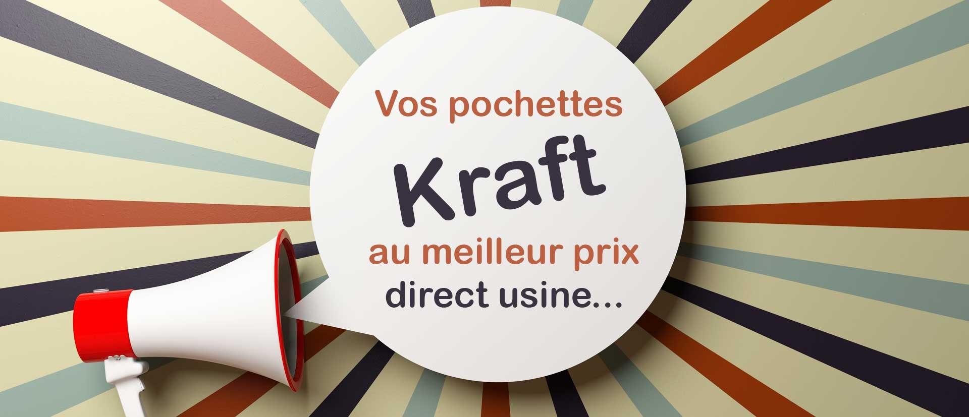 Vente en ligne d'enveloppes et pochettes Kraft